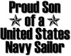 Proud Navy Son