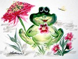 Froggy Art