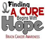 Grey Gray Ribbon Hope Cure
