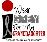 Support Brain Cancer Awareness Month Tumor