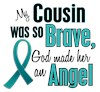 I Wear Teal Ribbon My
