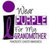 Nana Big I Wear Purple My Grandmother Grandma