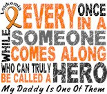 I Wear Orange My Dad Father Daddy Hero