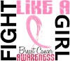 Fight Like Girl Breast Cancer