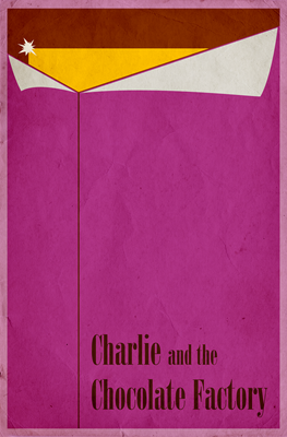 Charlie and the Chocolate Factory Minimal Poster