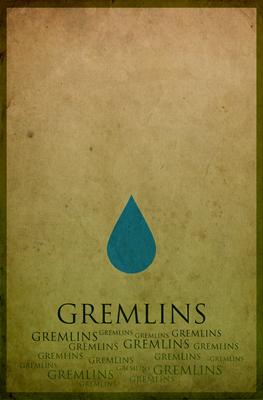 Gremlins Minimalist Poster Design