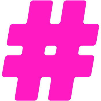 Hot Pink #Hashtag