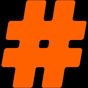 Orange #Hashtag
