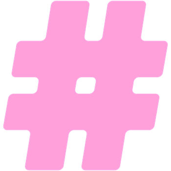 Pink #Hashtag