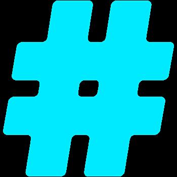 Turquoise #Hashtag