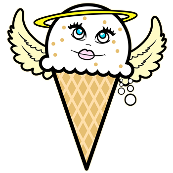 Angel Ice Cream Cone