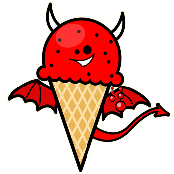 Devil Ice Cream Cone