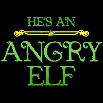 He's an Angry Elf