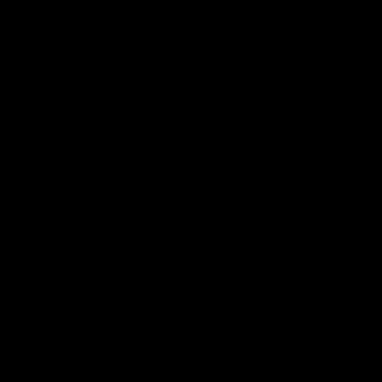 Black Distressed Alien Head