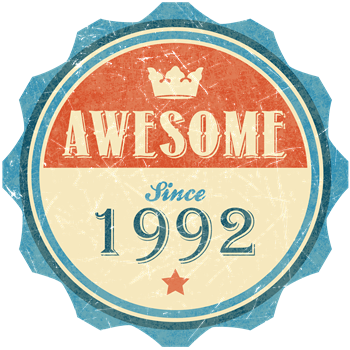 Awesome Since 1992