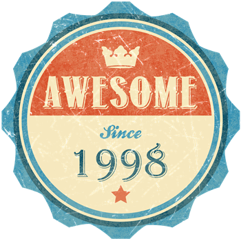 Awesome Since 1998