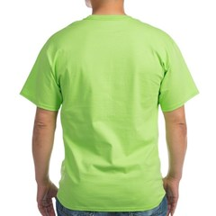 Drink Wisely Basic Green T-Shirt