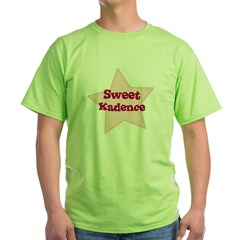 Sweet Kadence Green T-Shirt