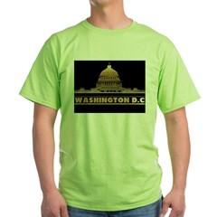 WASHINGTON2tr Green T-Shirt