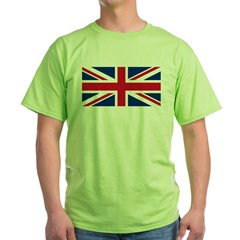 Union Jack Green T-Shirt