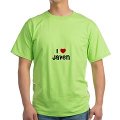 I * Javen Ash Grey Green T-Shirt