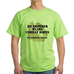 My Brother Wears NG DCB Green T-Shirt