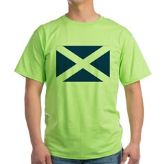 Scottish Flag Green T-Shirt