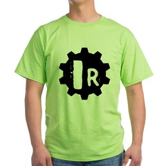 Industrial Revolution Green T-Shirt