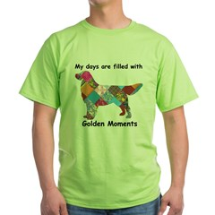 Quilt Dog Green T-Shirt