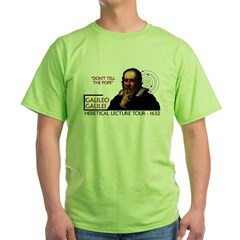Galileo Heresy Tour Green T-Shirt