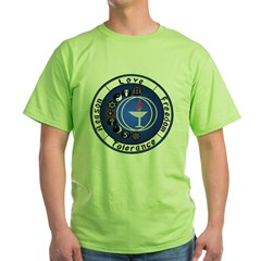 Circle Chalice_Principles Green T-Shirt