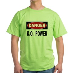 K.O. Power Green T-Shirt