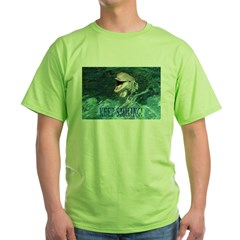 dolphin-keep smiling.jpg Green T-Shirt