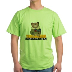 Bear Kindergarten Green T-Shirt