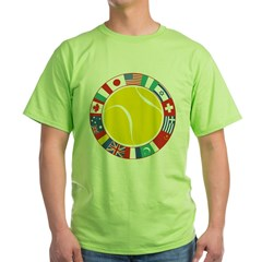 Tennis World Green T-Shirt