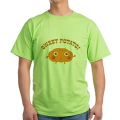 """Sweet Potato"" Green T-Shirt"