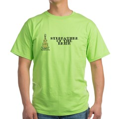 Stepfather Of The Bride Green T-Shirt
