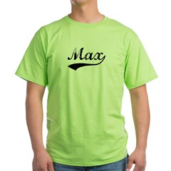 Vintage: Max Ash Grey Green T-Shirt