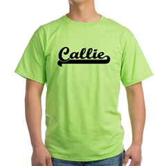 Black jersey: Callie Ash Grey Green T-Shirt