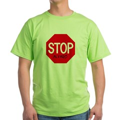 Stop Alvaro Green T-Shirt
