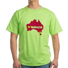 Love Melbourne Green T-Shirt