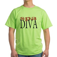 Spa Diva Green T-Shirt