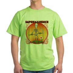 Impermanence4black Green T-Shirt