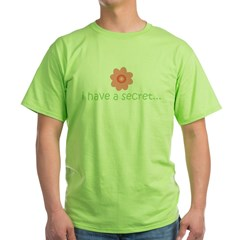 ADULT SIZES - big sister Green T-Shirt