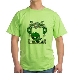 Callaghan Coat of Arms Green T-Shirt