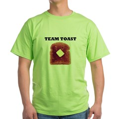 TEAM TOAST Green T-Shirt