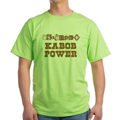 Kabob Power Green T-Shirt
