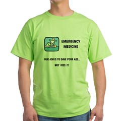 Emergency Medicine Green T-Shirt
