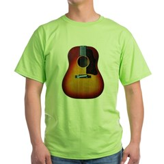 Gibson J-45 guitar Green T-Shirt