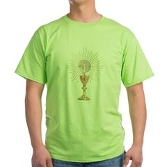 Eucharistic Green T-Shirt